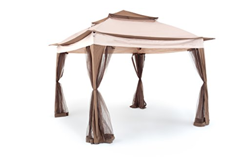 My _ Garden m0465 – 21 Carpa IOS 3, 330 x 330 x 255 cm, crudo
