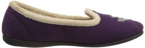 Padders Cheer, Pantofole Donna Viola (violett)