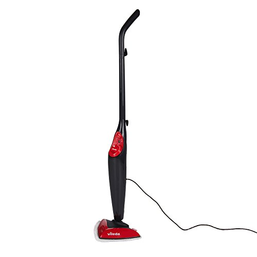 Vileda Steam Mop, UK Version-Black Test