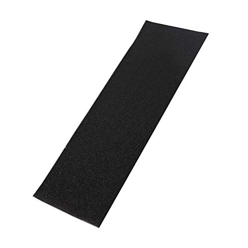 Griffband Aufkleber, Skateboards PVC Gelocht Keine Blasen Teile Deck Elektroroller Antirutsch Laken Rau Professionell Sandpapier - Schwarz -