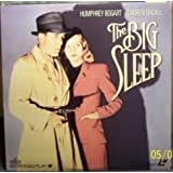 The Big Sleep LASERDISC (NOT A DVD!!!) (1946) by Lauren Bacall, Martha Vickers, Dorothy Malone, Peggy Knudsen, Regis Toomey, John Ridgely, Jean Heydt, Elisha Cook Jr. Humphrey Bogart