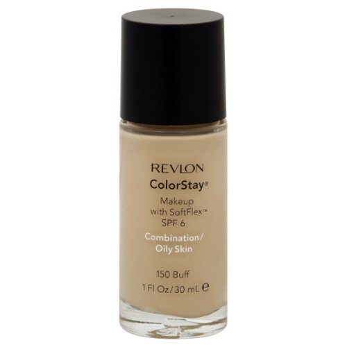 Revlon ColorStay Makeup Combination/Oily Skin Buff (2-Pack)