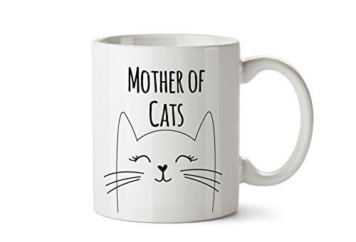 True Statements Tasse Mother of Cats -