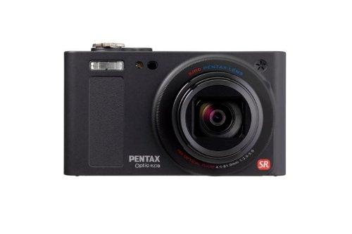 Pentax Optio RZ18 Digitalkamera (16 Megapixel, 18-fach opt. Zoom, 7,6 cm (3 Zoll) Display, bildstabilisiert) schwarz Zoom, Pentax Optio