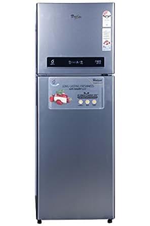 Whirlpool 360 L 3 Star Frost-Free Double Door Refrigerator (Pro 375 ELT 4S, Alfa Steel)