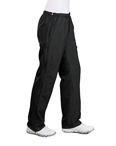 Authentic klein - Damen Sport und Freizeithose mit seitlichem Rei?verschluss (51002) Schwarz (090)