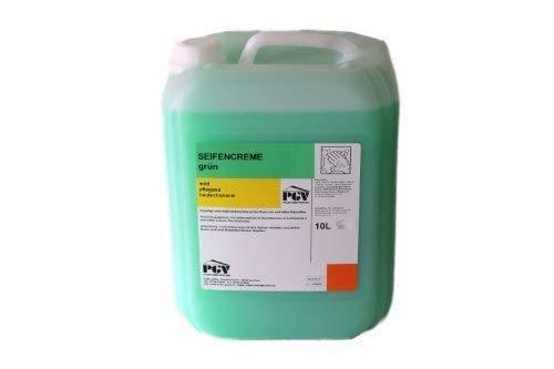 Seife 10 L Flüssigseife, Cremeseife, grün , dermatologisch getestet