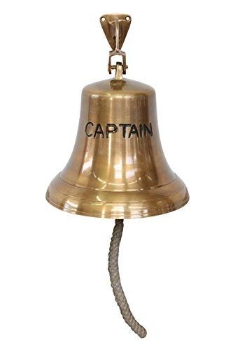 Antike Schiff Glocke (Glocke Schiffsglocke Captain Dekoration Schiff Maritim Nautik Antik-Stil Kapitän)