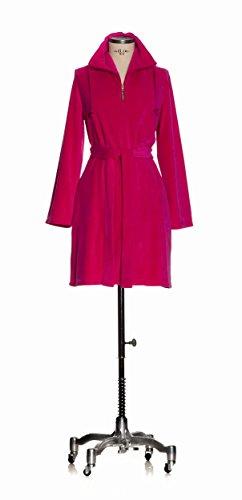 Gabbiano 277280673_S_243 home wear Nicki-cappotto, taglia S, magenta Rosso