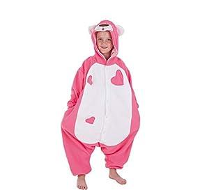 Creaciones Llopis - Disfraz de divertida Pantera Rosa para niños de 7/9 años, talla M