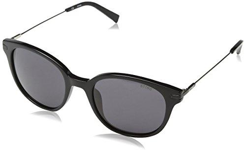 Sting Herren Sonnenbrille Ss6580 Grau (SHINY BLACK) Einheitsgröße