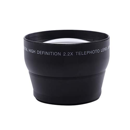 Altsommer Professionelles HD 58MM 2.2X Teleobjektiv für 58MM digitale Spiegelreflex Kameras für Canon EOS 700D 650D 600D 550D 500D 450D 400D 350D 100D DSLR Kameras Canon 350d Dslr