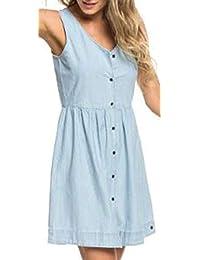 7d5d9e47da43 Amazon.it  abito azzurro - XS   Vestiti   Donna  Abbigliamento