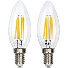 4 Watt-e14 ampoules LED, ampoules à filament Graphene, équivalent à 40 W de0a37e4c535