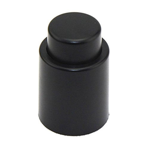 Vakuum-Sealed Wein-Champagne-Flaschen-Stopper-Stecker Cap Cork Schwarz