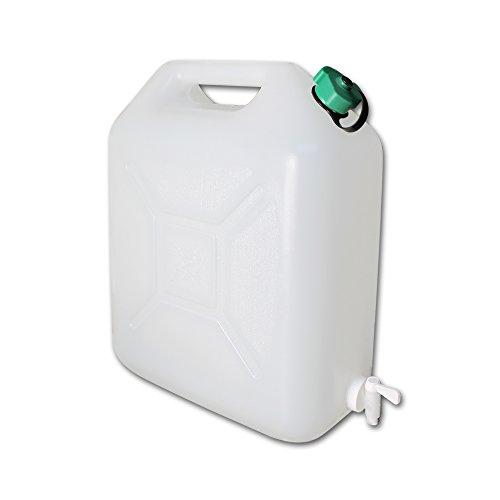Wasserkanister mit Wasserhahn - Wasserkanister Camping - faltbarer Wasserkanister - Wasserbehälter faltbar - Wasserbehälter mit Modellauswahl (Wasserkanister 10L)