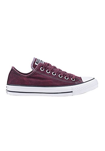 Converse Chuck Taylor All Star Adulte Seasonal Ox 15762 Damen Sneaker Red/Black
