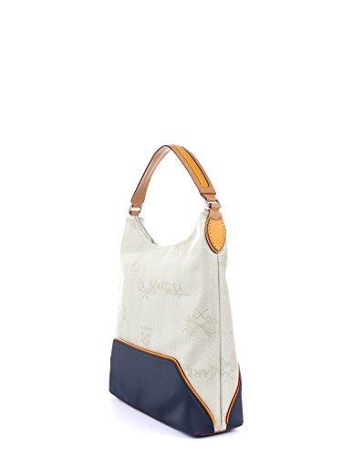 La Martina , Sac pour femme à porter à l'épaule Beige/Blue