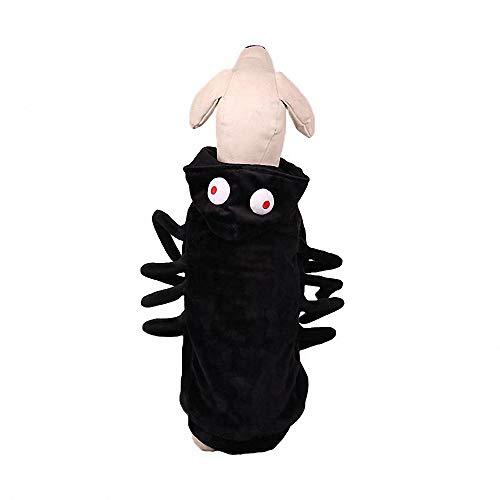 Kostüm Muster Girl Spider - FZ FUTURE Halloween Lustiges Haustier Kostüm, Simulation Plüsch Spinne kleiden Nettes Cosplay, für Halloween, Partys, Feste-Größe Passend,M