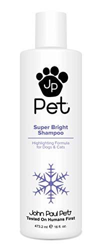 John Paul Pet JPS5491 Super Bright Shampoo Krallenpflege (Für Mitchell Hunde Paul)