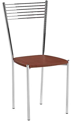 Tommychairs - Juego de 4 sillas Elegance para Cocina, Bar y Comedor,...
