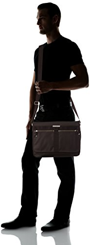 Tommy Hilfiger Darren Messenger W Flap, Sac messenger Marron (212 Coffee Bean Eur)