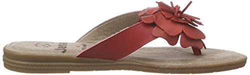 Jana 27113, Tongs femme Rouge - Rot (RED 500)