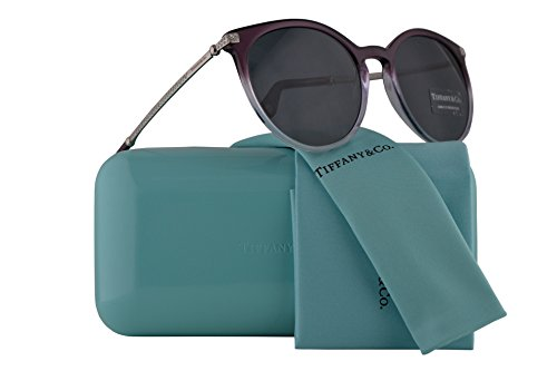 Tiffany & Co. Frau TF4142B Sonnenbrille w/grau Objektiv 54mm 822.287 TF4142B TF 4142B TF 4142B Transparent Lila Gradient Flieder groß
