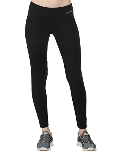 Bench Damen Leggings Parya, Jet Black, XL, BLNF0041