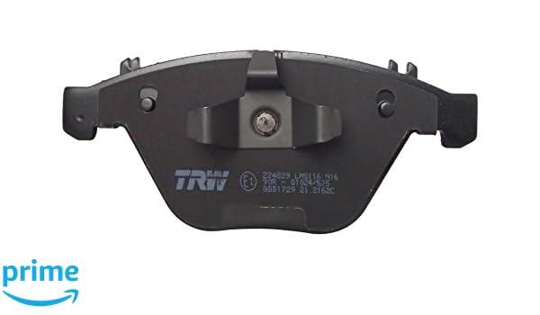 TRW GDB1729-TRW Bremsbelagsatz Scheibenbremse Set of 4