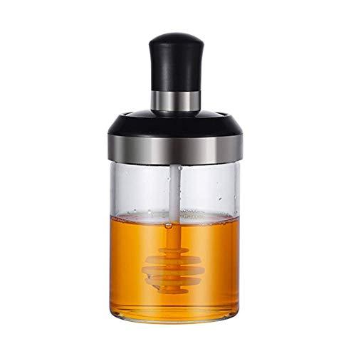 Fishyu 1 stück 250 ml Glas Gewürzbehälter Öl Flasche für Küche Honigspender