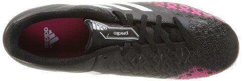 adidas Predito Lz Trx Tf, Chaussures de football homme Noir - Black I/Running White FTW/Vivid Berry