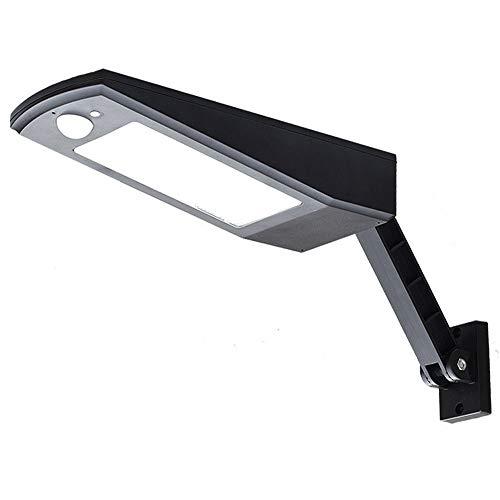 Lloo 4 modalità ruotabile portalampada esterno solari lampade,120°illuminazione grandangolare,wireless ip65 impermeabile,super luminosa sicurezza parete lampade kühles weißes licht,black
