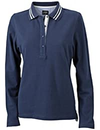 James & Nicholson Damen Poloshirt  Ladies' Long-Sleeve