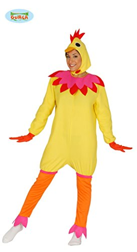 Huhn Kostüm für Damen Gr. M/L, (Kostüm Henne)