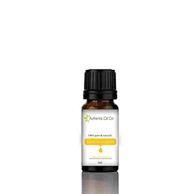 10 ml jojoba Oil 100% pure Golden by Authentic Oil Co