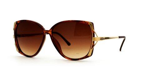 Christian Dior Damen Sonnenbrille Braun Brown Red