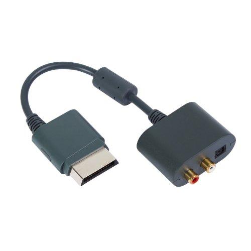 2-TECH 5.1 Surround Audio Kabel Adapter passend für alle XBOX360 Versionen