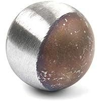 Durchmesser 50 mm Qualit/ätsstahl S235 roh ST37 Hochwertige Stahl Hohlkugel Materialst/ärke 2,5 mm Oberfl/äche blank