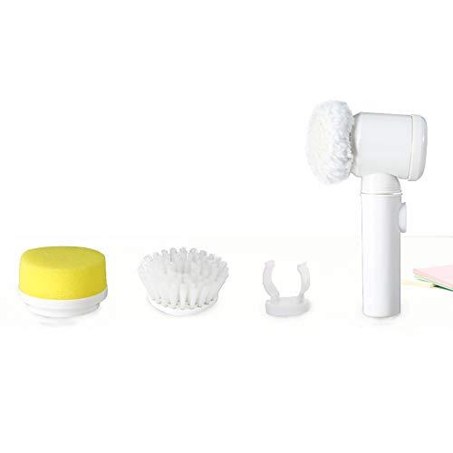 Bürste Nylon Elektro-Multifunktions-Haushaltswerkzeug Bad Küche Reinigungsbürste Fensterputzer, 5 in 1 Magic -