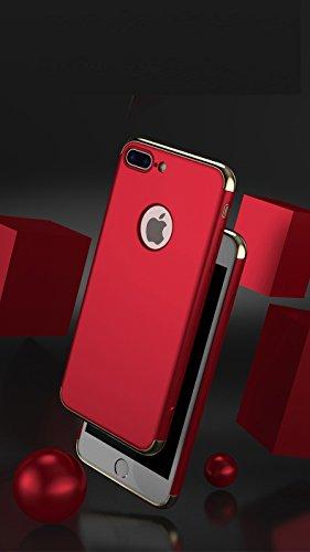 Coque iPhone 7,Coque iPhone 7 Plus,Coque iPhone 6/6S,Coque iPhone 6 Plus, Coque iPhone 6S Plus,Manyip 3 in 1Trois segments de type combiné Coque ,électrodéposition de couleur,Mince case cover(ZG-17) E