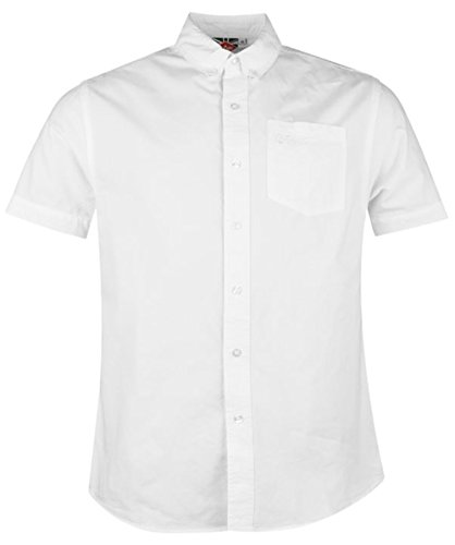 Lee Cooper - Chemise casual - Homme Blanc (Optic White)