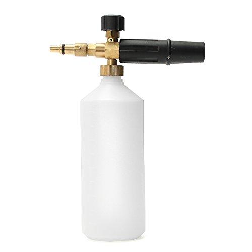 ILS - Weiße Schaumlanze für Nilfisk-Hochdruckreiniger Kompatibel Saubere Waschflaschen (Multi-cutter Head)