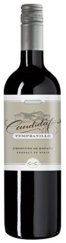6x 0,75l - 2016er - Candidato - Tempranillo Plata Tinto - Barrica - Spanien - Rotwein trocken