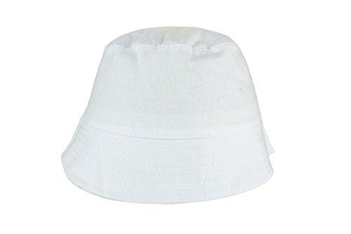 Baumwoll Sonnenhut in White Größe: One Size