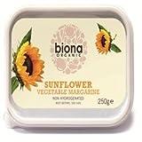 Biona Organic Sunflower Margarine, 250 g