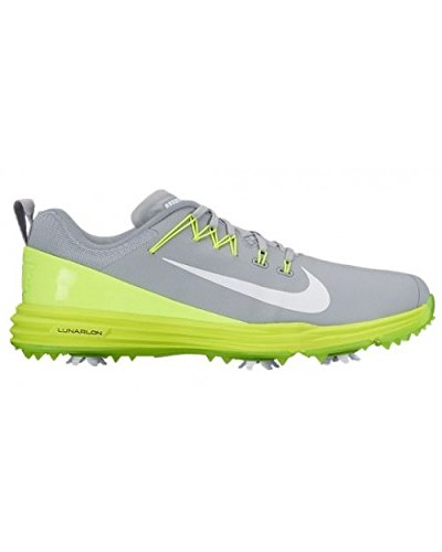 Nike Lunar Command 2, Chaussures sport homme Gris (Wolf Grey/white/volt)