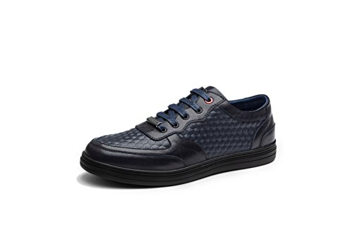OPP Chaussures de Ville Sneaker en Cuir Basses Pour Hommes