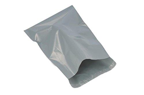 (100Stück) grau 175x 235mm, Versandtaschen Poly Post Kunststoff Versandtaschen Versand Staubbeutel Mail Verpackung Paket selbst Seal Umschlag - Poly Versandtaschen Seal Selbst