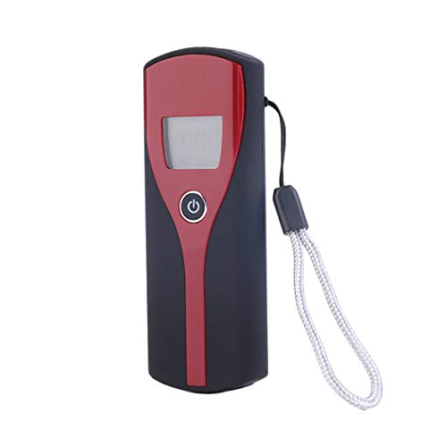 JohnJohnsen Promoción Profesional de Bolsillo Digital Alcohol analizador de Aliento analizador de alcoholímetro...